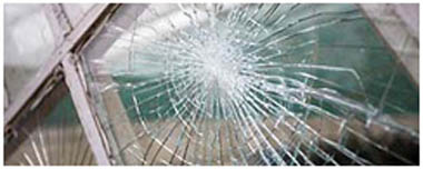 Oadby Smashed Glass